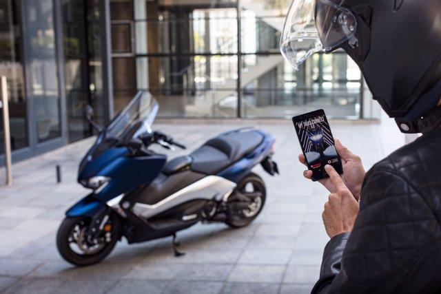 Vodafon y Yamaha lanzan el primer scooter conectado de la compañía