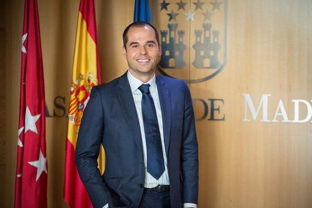 Ignacio Aguado en la Asamblea de Madrid