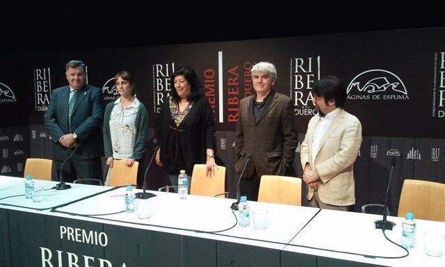 Jurado V Premio Ribera del Duero de relatos