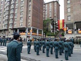 "El nuevo jefe de Comandancia de Gipuzkoa dice que ""la historia reciente"" obliga a ""evolucionar"" a la Guardia Civil"