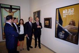 El Museo Revello de Toro de Málaga muestra imágenes del Cristo de la Buena Muerte con motivo de su 75 aniversario