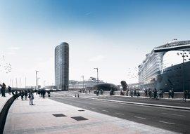 """El Foro de Turismo apoya el proyecto del hotel del puerto, que considera """"un nuevo icono"""" para Málaga"""