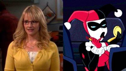 Batman y Harley Quinn: Bernadette de The Big Bang Theory pondrá voz a Harley Quinn