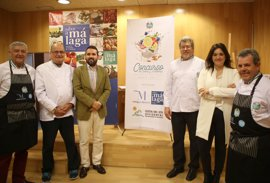 Profesionales de la gastronomía y alumnos de escuelas de hostelería participan en el concurso 'Marbella Cocina'