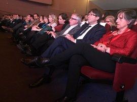 """Puigdemont agradece el apoyo de CC.OO. en """"momentos clave de país"""""""