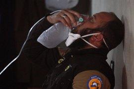 Elevan a más de cien los muertos por el ataque químico perpetrado en Idlib