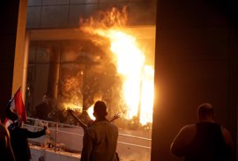 Los investigadores, cerca de identificar a los autores del asalto al Congreso de Paraguay