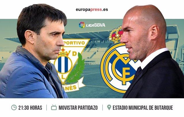Horario y dónde ver el Leganés – Real Madrid | Jornada 30 Liga Santander