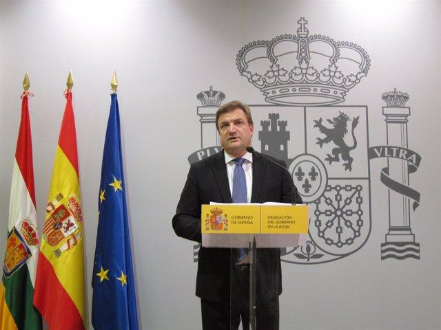 El Delegado Del Gobierno Alberto Bretón