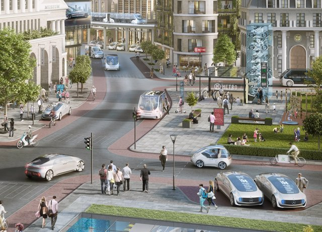 Colaboración entre Daimler y Bosch para el coche autónomo