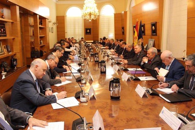Zoido preside el Pleno del Consejo de la Policía Nacional