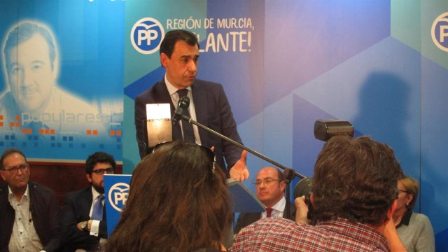 Martínez-Maillo En Junta Directiva PP Murcia