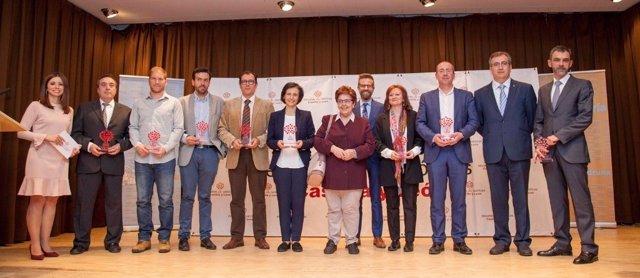 Ganadores de los Premios de Escuelas Católicas de Castilla y León