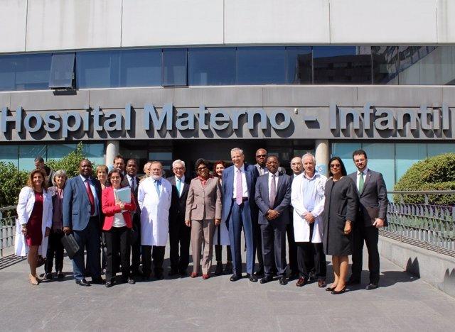 Visita ministra de Salud de Mozambique