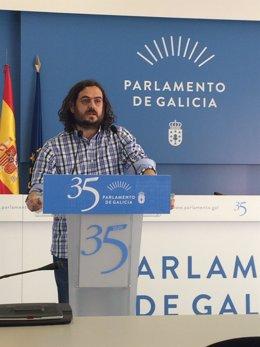 El diputado Antón Sánchez.