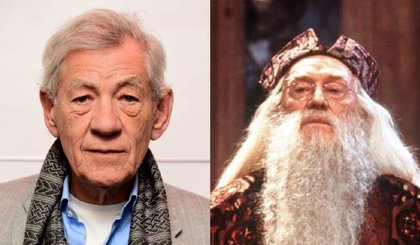 Sir Ian Mckellen revela por qué rechazó el papel de Dumbledore en Harry Potter