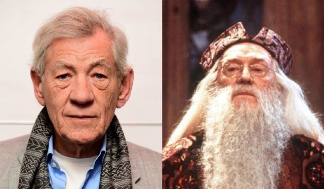 Ian Mckellen / Richard Harris