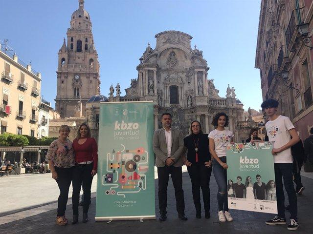 Presentación 'Kbzo, juventud en movimiento'