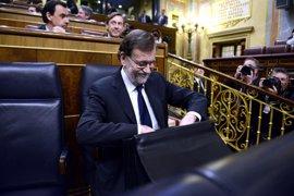 Rajoy contestará mañana a preguntas en el Congreso sobre el Brexit y las inversiones en Cataluña