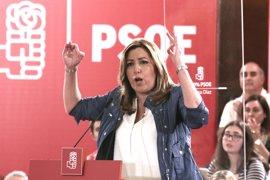 """Susana Díaz exige a Rajoy explicar el """"maltrato brutal"""" a Andalucía en inversiones"""
