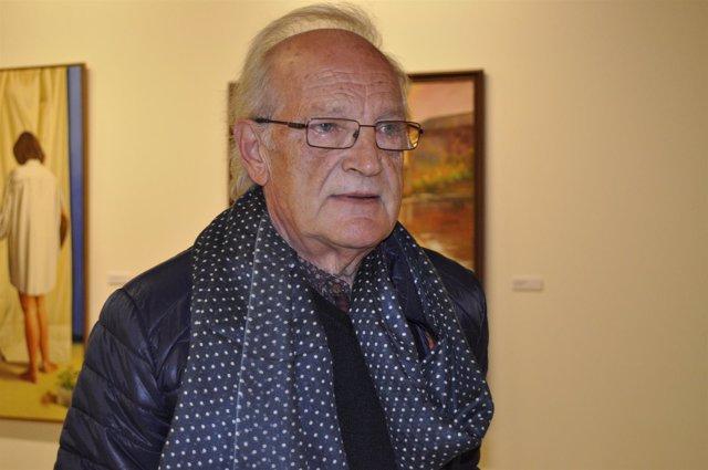 El pintor zaragozano Natalio Bayo expone en la Lonja hasta el 28 de mayo.