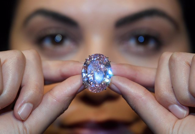 Estrella Rosa, el diamante rosa más grande del mundo