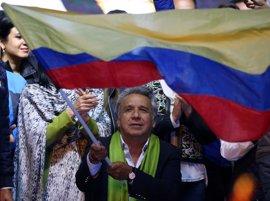 El CNE proclama a Lenín Moreno ganador de la segunda vuelta de las presidenciales