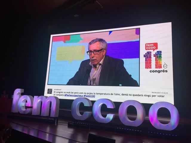 Ignacio Fernández Toxo, CCOO