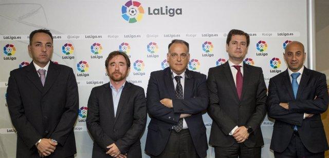 """LaLiga firma un acuerdo con JDigital para """"buenas prácticas"""" en las apuestas"""