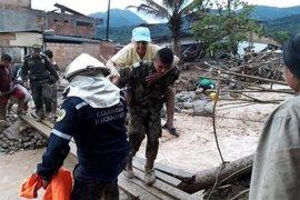 Elevan a 290 el balance de muertos tras las inundaciones de Mocoa (Colombia)