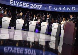 Jean-Luc Mélenchon, el más convincente del 'gran debate' presidencial en Francia