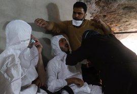 Rusia afirma que Siria bombardeó el martes una fábrica de armas químicas en Jan Sheijun