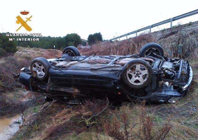 Estado del vehículo accidentado