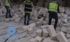 Detenidas 25 personas y requisada más de media tonelada de cocaína oculta en falsos ladrillos