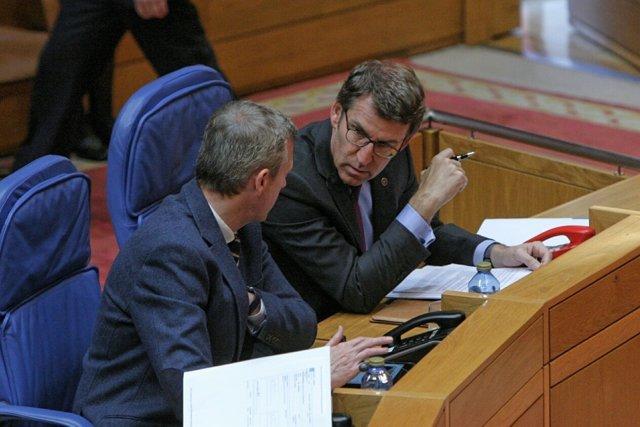 Fotos Xunta. Pleno Presidente.