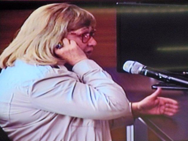 La secretaria personal del expresidente del Palau de la Música, Elisabet Barberá