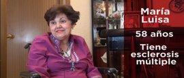 """María Luisa, enferma esclerosis múltiple y dependiente: """"Cuando más ayuda necesito es cuando me la bajan"""" #10Años10Voces"""