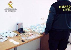 Doce detenidos en Huelva tras registrar varios puntos de venta de drogas en Minas de Riotinto y Tharsis