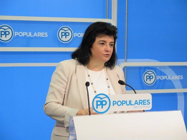 La portavoz del Grupo Popular, Concha Arruga
