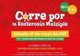 La carrera popular 'Corre por la esclerosis múltiple' se celebrará el próximo 20 de mayo para lograr visibilidad social