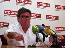 """CCOO considera """"nefastos"""" los PGE para Extremadura y pide a Vara un """"liderazgo claro"""""""