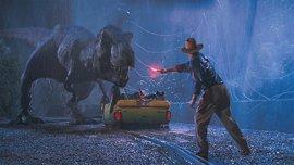 El mítico T-Rex de Parque Jurásico también estará en Jurassic World 2