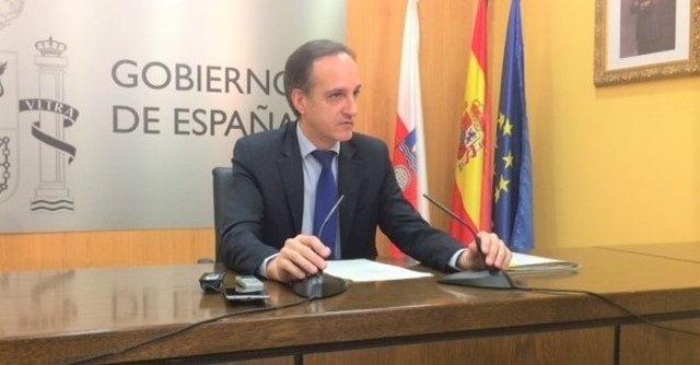 Samuel Ruiz, delegado del Gobierno en Cantabria