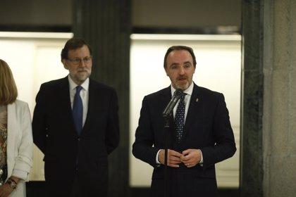 """Rajoy presume de Presupuestos con """"más recursos"""" para pensiones y sanidad y esperar mejorar previsiones"""