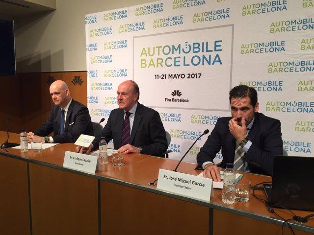 R.Zapatero, E.Lacalle y J.M.García (Automobile)