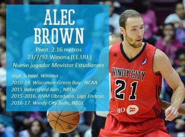 Alec Brown llega al Estudiantes