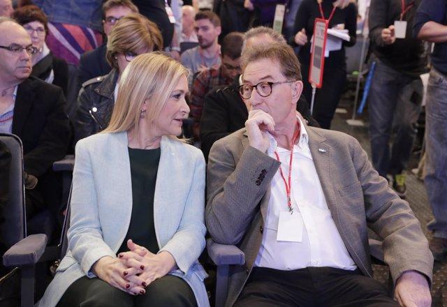 Jaime Cedrún y Cristina Cifuentes