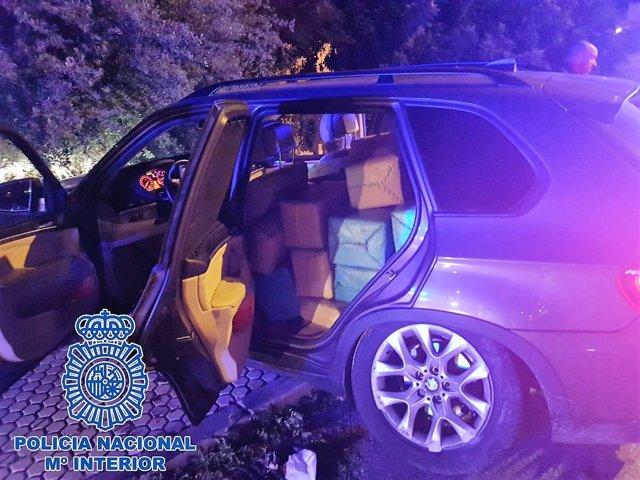 Vehículo con droga interceptado en Algeciras