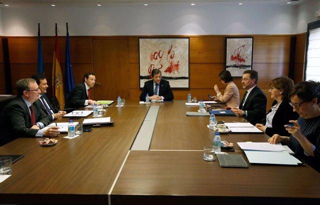 Reunión del Consejo de Gobierno del Principado