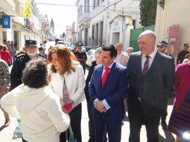 """Susana Díaz emplaza al PP-A a """"dar la cara"""" ante la """"tomadura de pelo"""" del Gobierno con los PGE"""